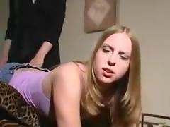 Bend Over, Punishment, Sofa, Spanking, Bend Over