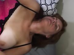 mom janet desperate for cock in her grey pubes