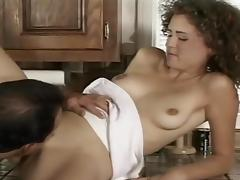 Naughty Teen and Horny Teacher get Kinky with Cake Batter