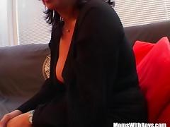 Big Boobed Mature Masturbate And Fucked With Facial
