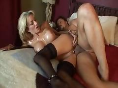 Fabulous pornstar Lexi Carrington in amazing blonde, stockings xxx scene