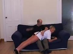 Nurse Spanked and Strapped
