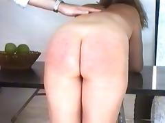 Three lady spanked