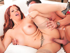 All, Big Tits, Facial, Latina, Monster, Redhead