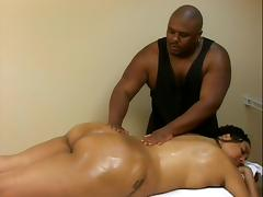 Black bbw massage