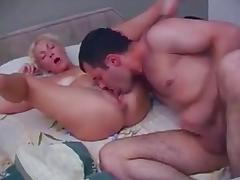 Milf wakes junior boy with a blowjob