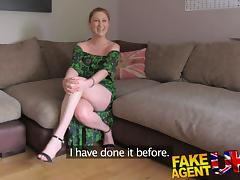 FakeAgentUK finger fucking ass licking and cumshot