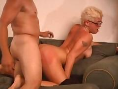 Crazy pornstar in incredible cumshots, fetish porn clip