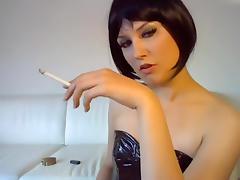 Brunette, Amateur, Brunette, Fetish, German, Smoking