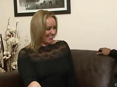 Housewife, Black, Blindfolded, Blowjob, Couple, Cowgirl