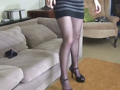 Brunette, Brunette, Legs, Nylon, Sex, Stockings