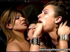 Roxy Jezel in Lesbo Fuck Fest - HarmonyVision