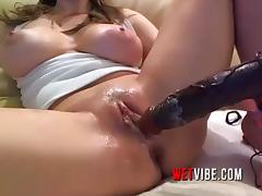 Make This Milf Super Wet by Turning on Both WETVIBE Sex