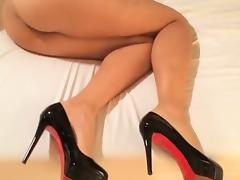 Shy Wife In Heels