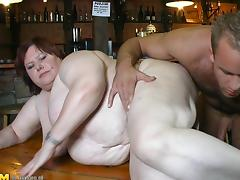 She's a fat chick with a pale skin and she wants to have sex right now