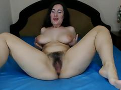 Ukrainian, Hairy, Masturbation, Webcam, Fur, Ukrainian