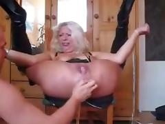 German squirting bdsm 5 in 1 vid