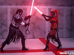 good training leads to good rewards @ star wars: one sith- xxx parody