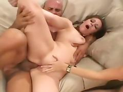 Two Schoolgirls Fucked By Well Hung Stud