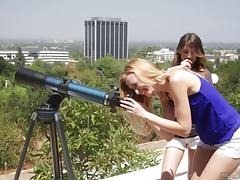 Scissoring adventure with Alexa Grace and her friend Kristen Scott