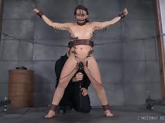 Basement, BDSM, Brunette, Cute, Fetish, Pretty