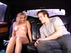 Anal for sexy blonde milf