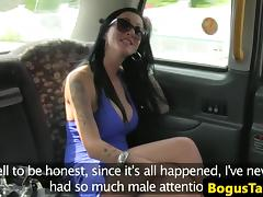 Bumfucked taxi brit throated outdoors