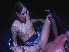 Exotic pornstars Kinzie Kenner and Dillan Lauren in crazy fetish, brunette porn scene