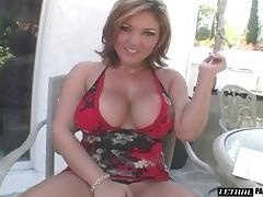 Tattooed big tits doll withstanding big cock pleasure hardcore