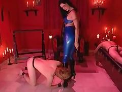 Sexy brunette Mistress Femdom