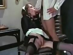 Horny maid.