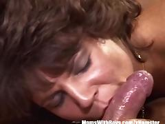 Aged, Aged, Blowjob, Brunette, Legs, Mature