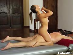 Sara Luvv makes a deal - Fantasy Massage