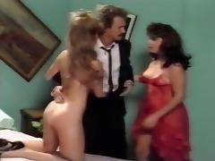 Classic Studs Nailing Hot Hairy Pussy