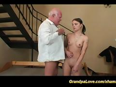 Old and Young, 18 19 Teens, Amateur, Grandpa, Old Man, Teen