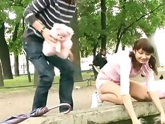 Public sex - russian girl lucy  2