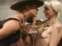 Nasty Bitches Broken Down At Porn Camp