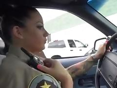 Big Tits, Big Tits, Cop, Hardcore, Interracial, Police