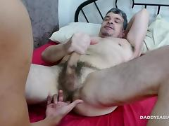 Dad, Asian, Fucking, Gay, Old and Young, Dad
