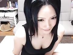 Crazy Amateur movie with Korean, Webcam scenes