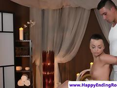 Beautiful goddess ravaged by her masseur