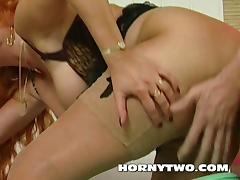 Hairy chubby amateur redhead stepmom fucking hot a young big
