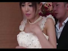 Bride, Asian, Bride, Japanese, Masturbation, Wedding