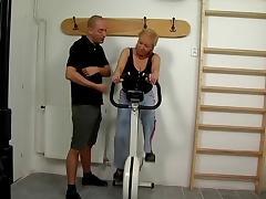 Granny Eva Horackova #1 In Sport