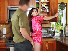 Avery Moon in Breakfast Surprise - DadCrush