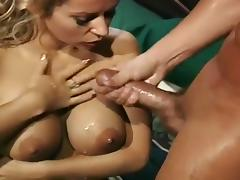 Bar, Bar, Big Tits, Blonde, Blowjob, Couple