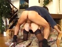 Bitch, Anal, Bitch, Blonde, Fucking, Stockings