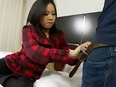 Geile Asiatin gefickt und ins Gesicht gespritzt