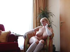 Gloves, Big Tits, Boobs, Gloves, Saggy Tits, Big Nipples
