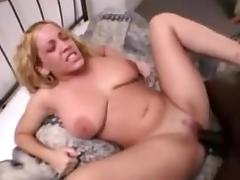 Hot girl with super tits ask for black cock
